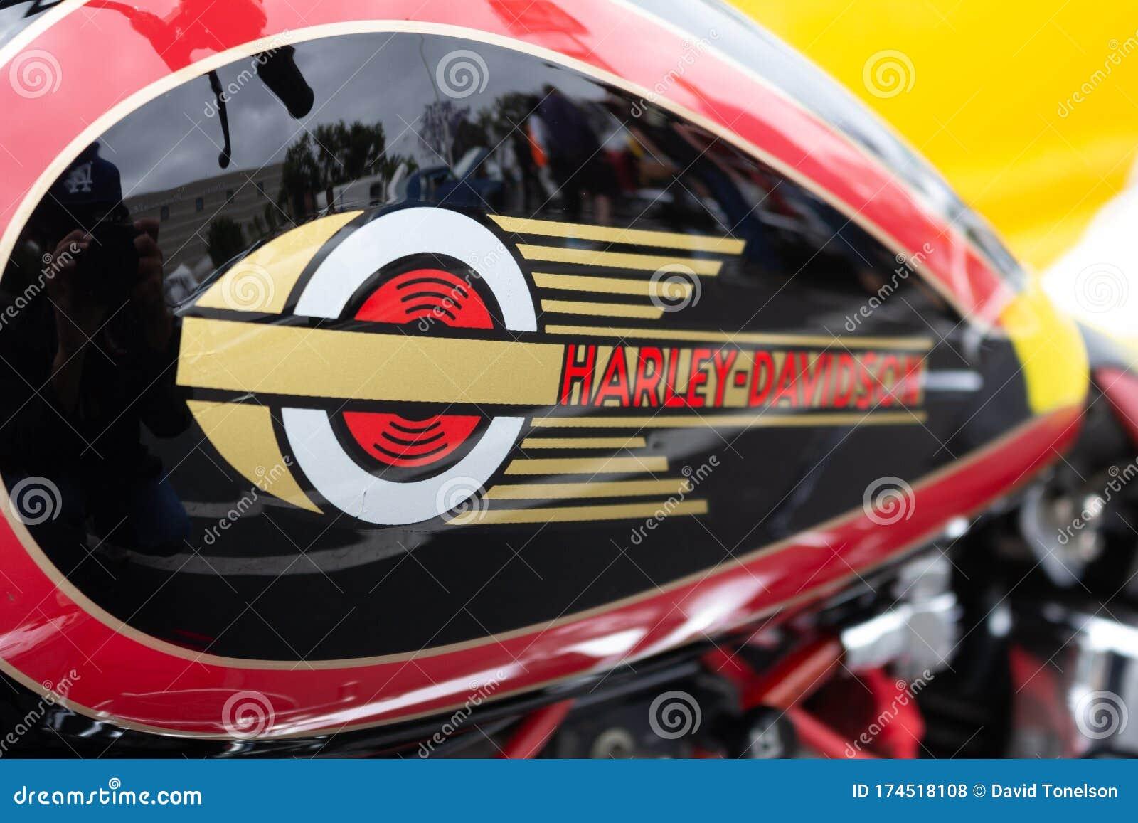 Harley Davidson Logo Editorial Stock Photo Image Of Fast 174518108