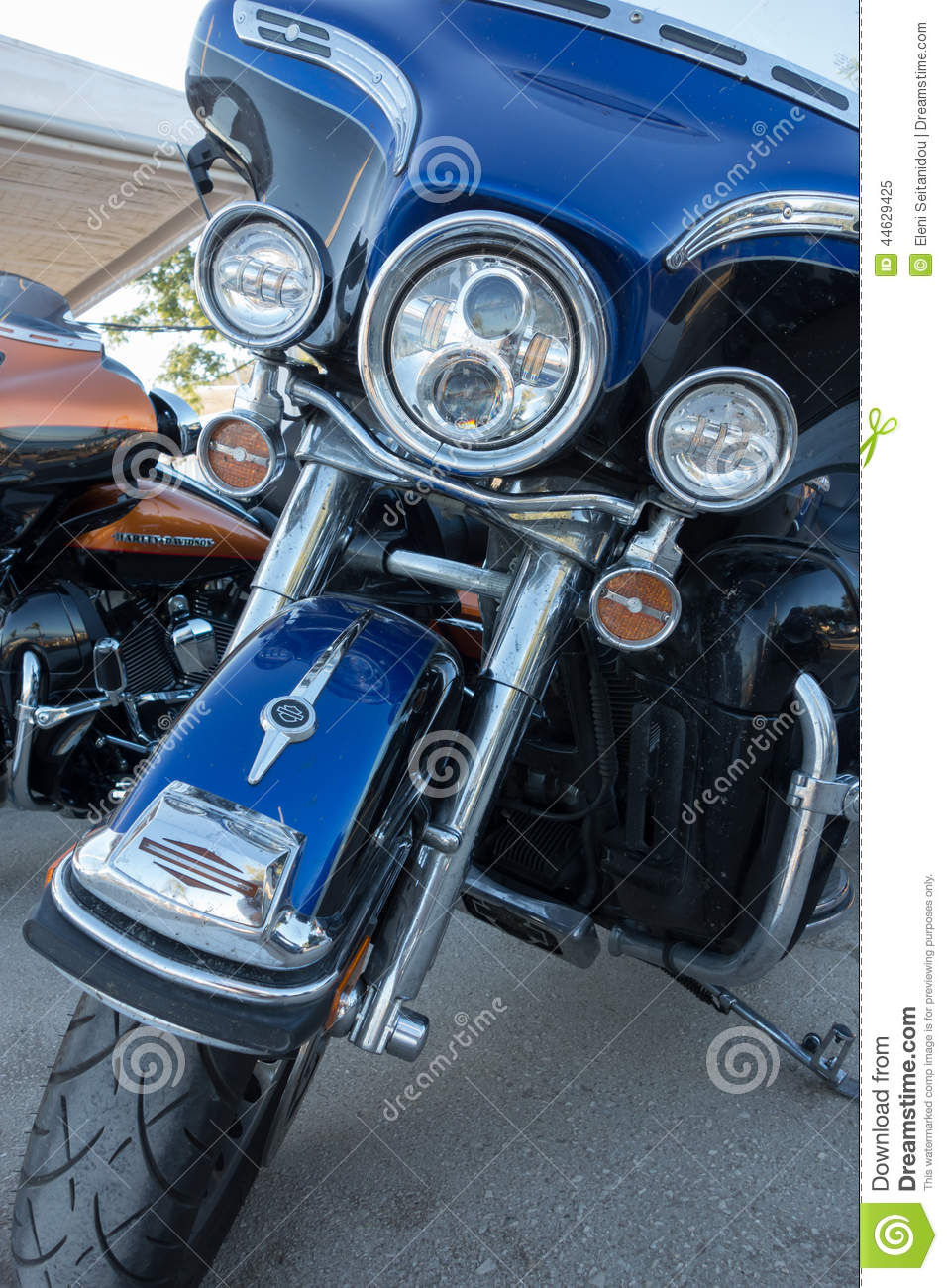 Alexandroupolis Greece  City new picture : ALEXANDROUPOLIS, GREECE AUG 30: Harley Davidson motorbikes from ...