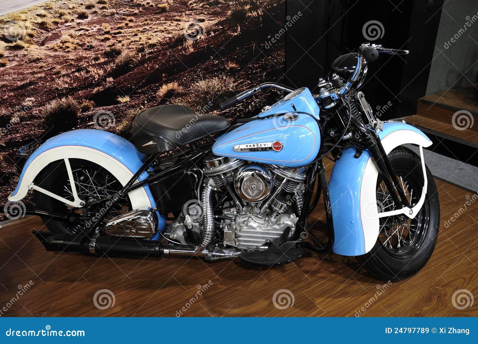 Harley Davidson motorcycleï ¼ AutoChina 2012
