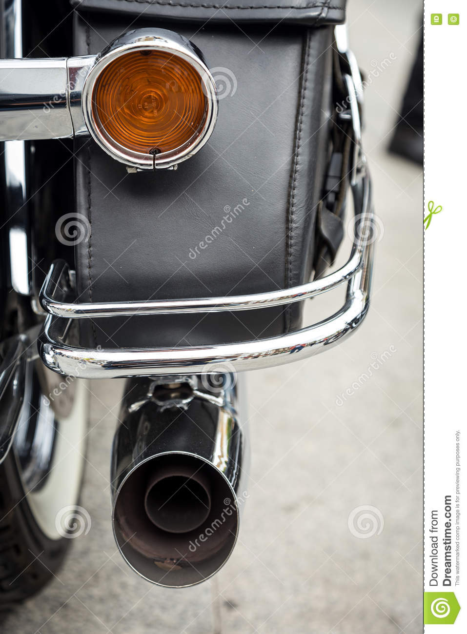 Harley Davidson Motorcycles Details Editorial Stock Photo Image Of