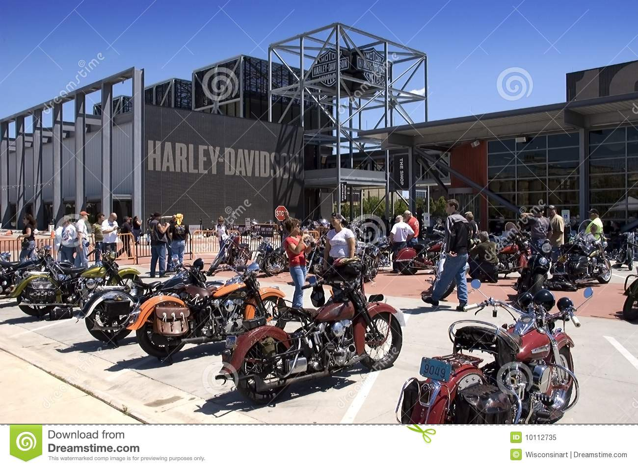 Harley Davidson Milwaukee >> Harley Davidson Museum In Milwaukee Wi Editorial Image