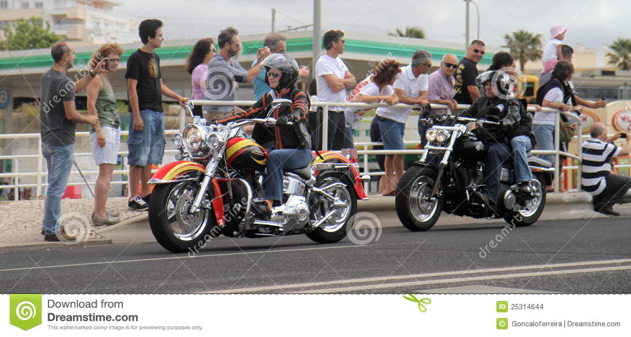 Harley Davidson Parade: Harley Davidson Parade Editorial Stock Image. Image Of