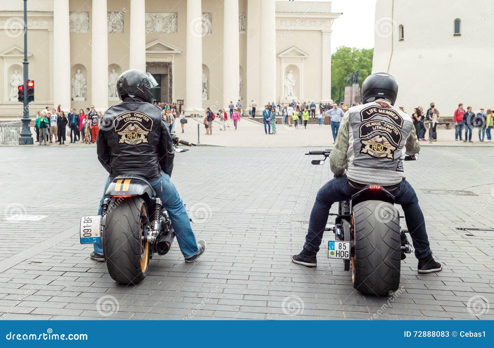 Harley Davidson-ruiters