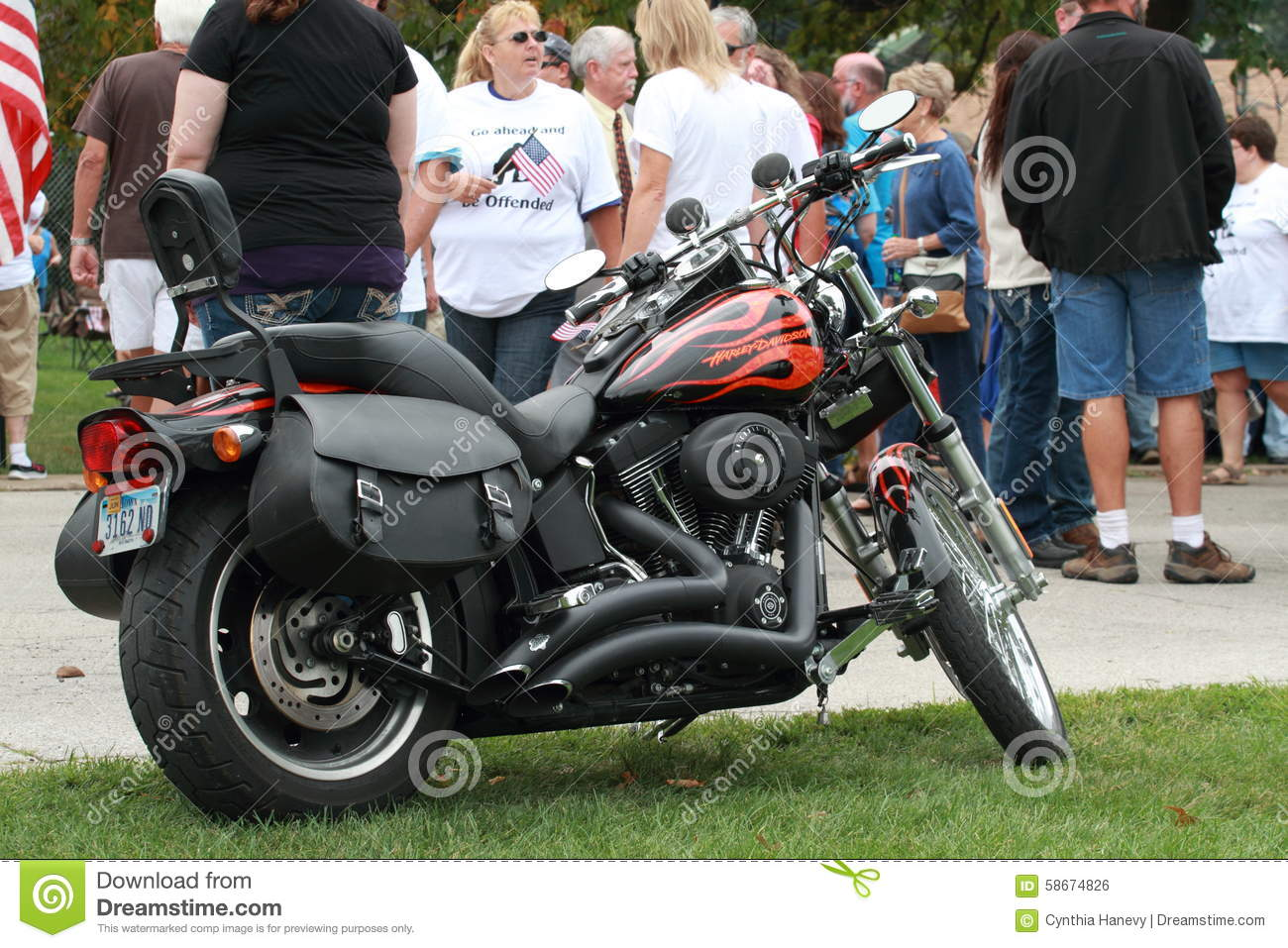 Knoxville Harley Davidson >> Harley Davidson At Save Our Cross Rally Knoxville Iowa