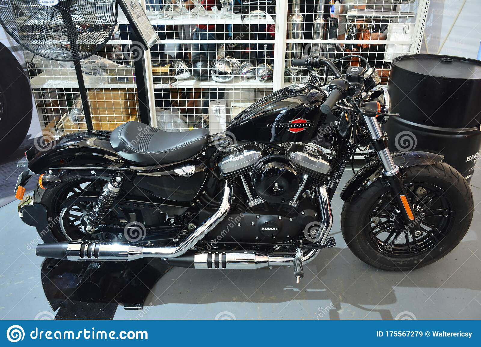 Harley Davidson 2020 Sportster Forty Eight At 2nd Ride Ph In Pasig Philippines Editorial Stock Image Image Of Balance Exhibit 175567279