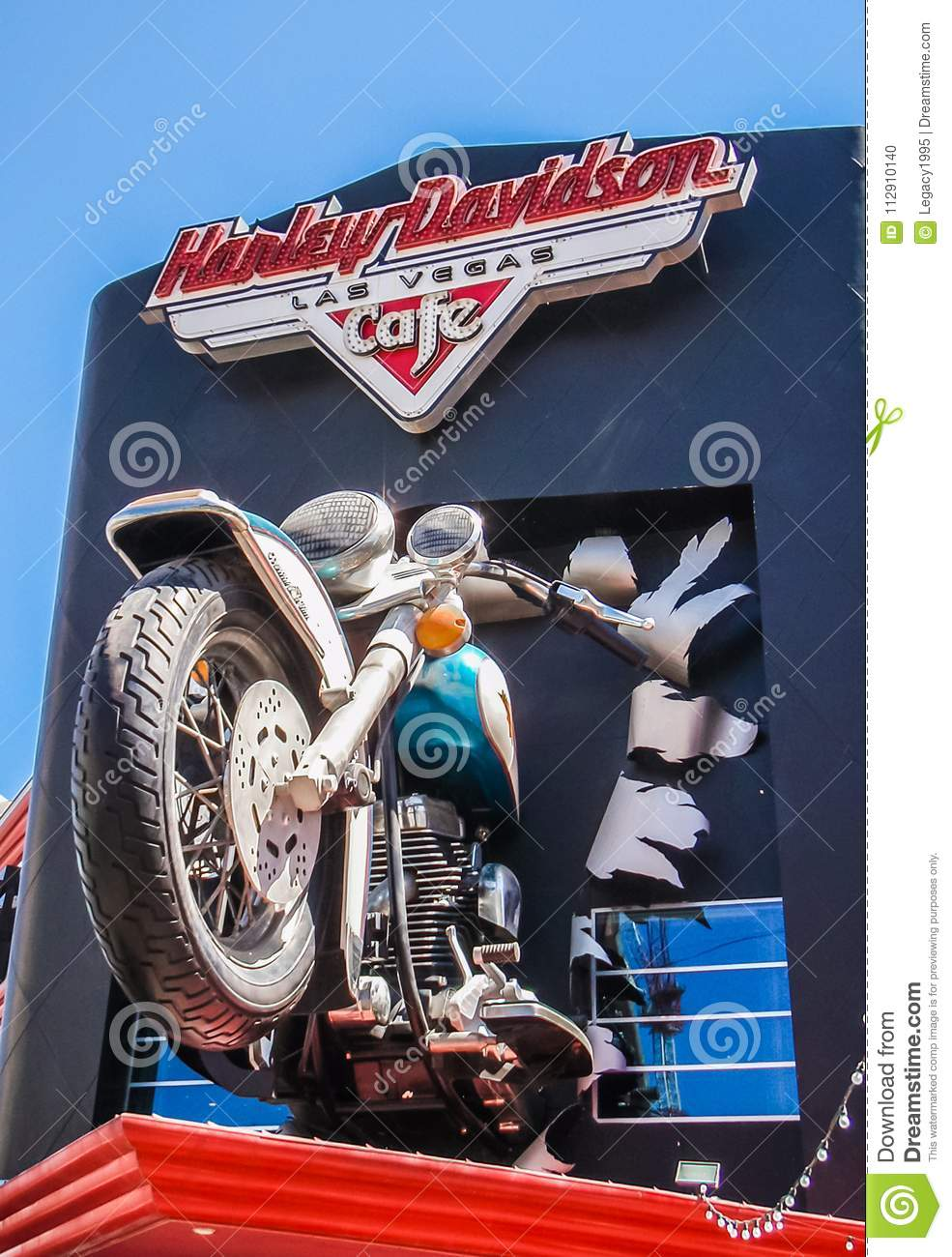 Harley Davidson Store Front Editorial Image Image Of Harley City