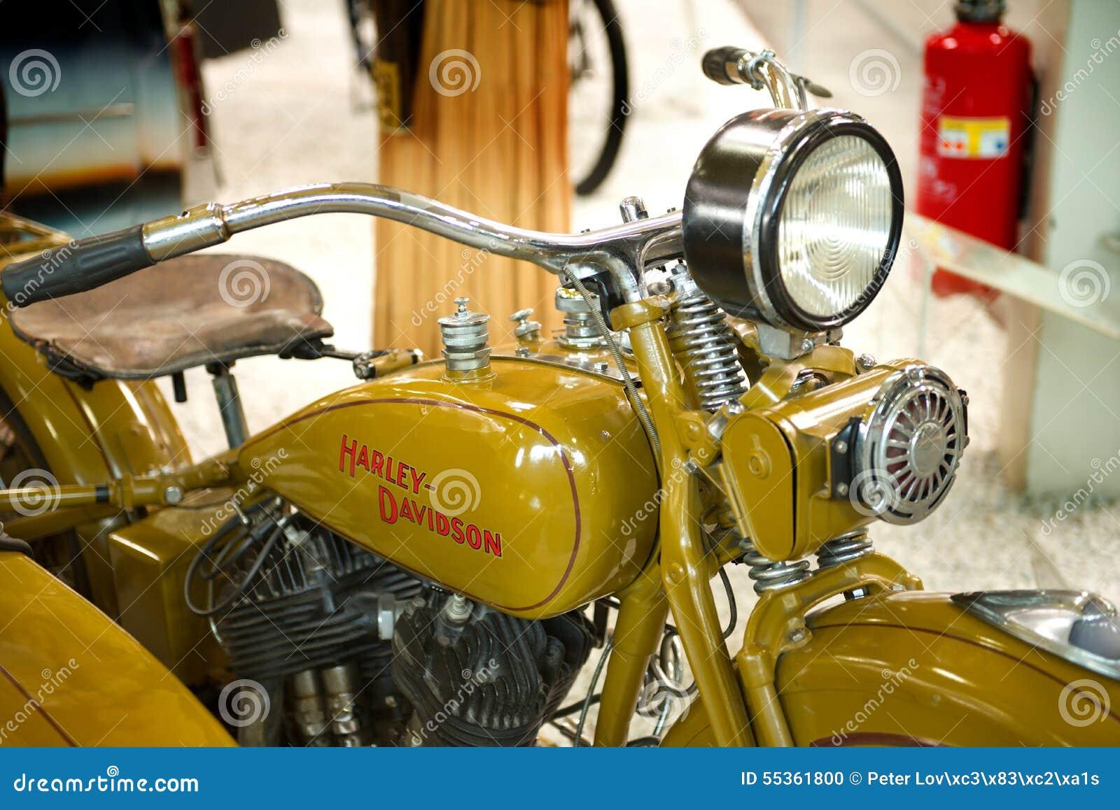 Harley Davidson V/VL - museo Sinsheim
