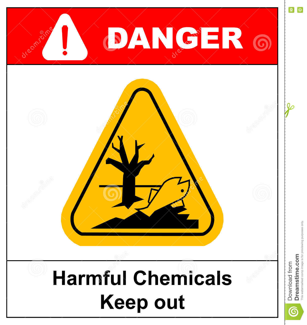 Harmful chemicals keep out hazardous to aquatic environment hazard harmful chemicals keep out hazardous to aquatic environment hazard warning danger banner isolated vector buycottarizona Images