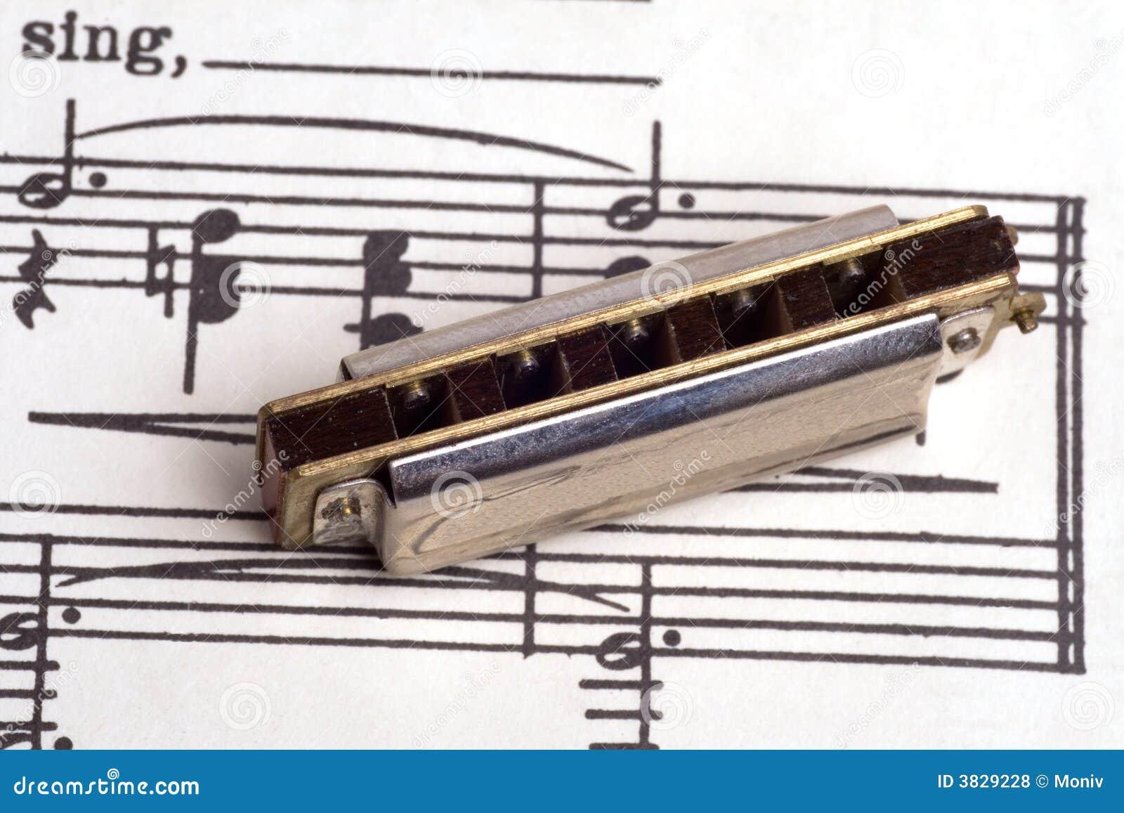 Harmonicamusikark till tappning