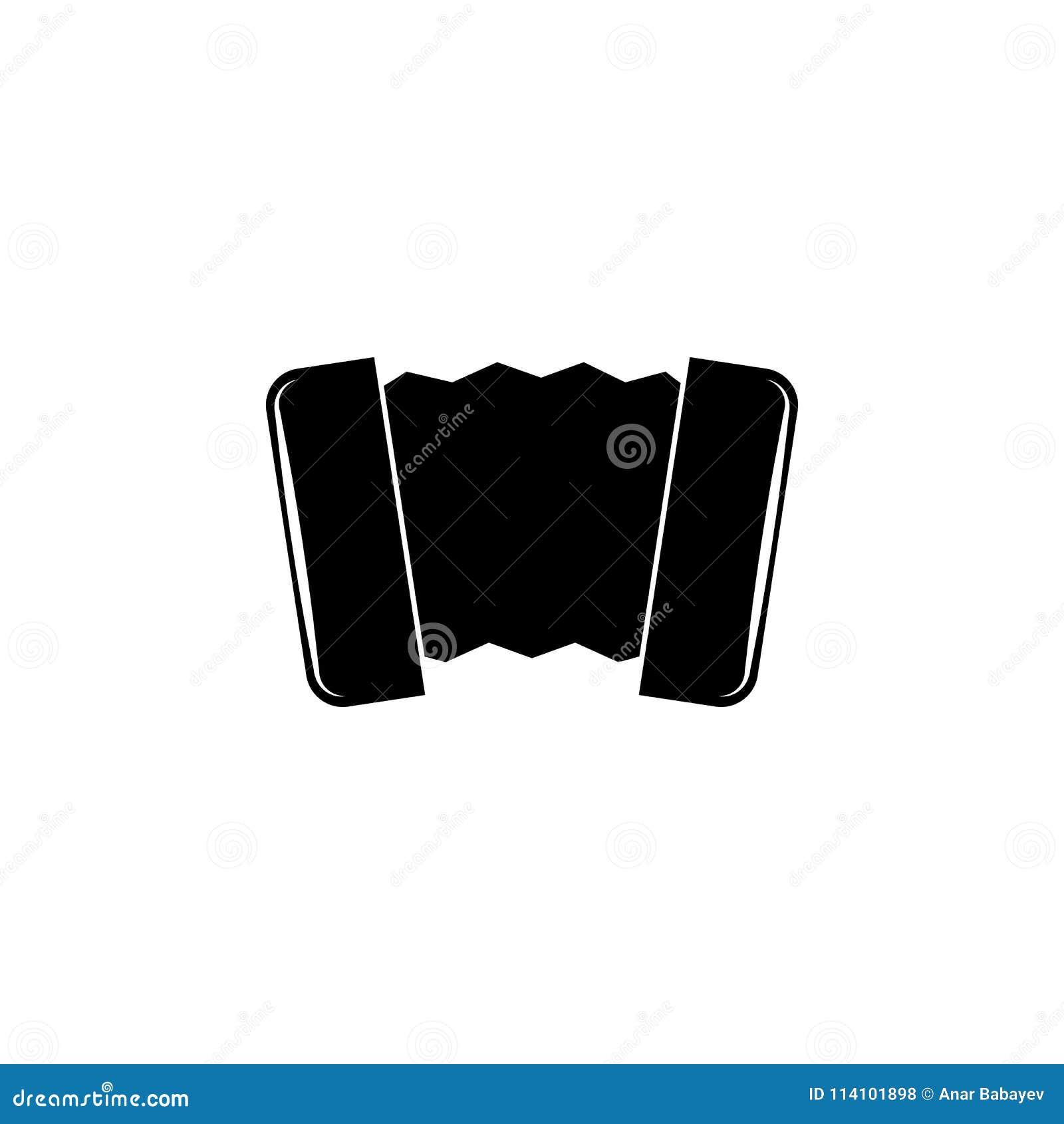 Harmonisch pictogram Element van muziekpictogram Grafisch het ontwerppictogram van de premiekwaliteit Tekens en symboleninzamelin