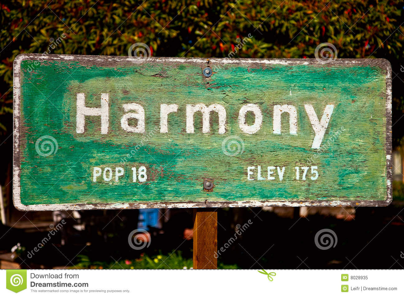 Harmony sign in
