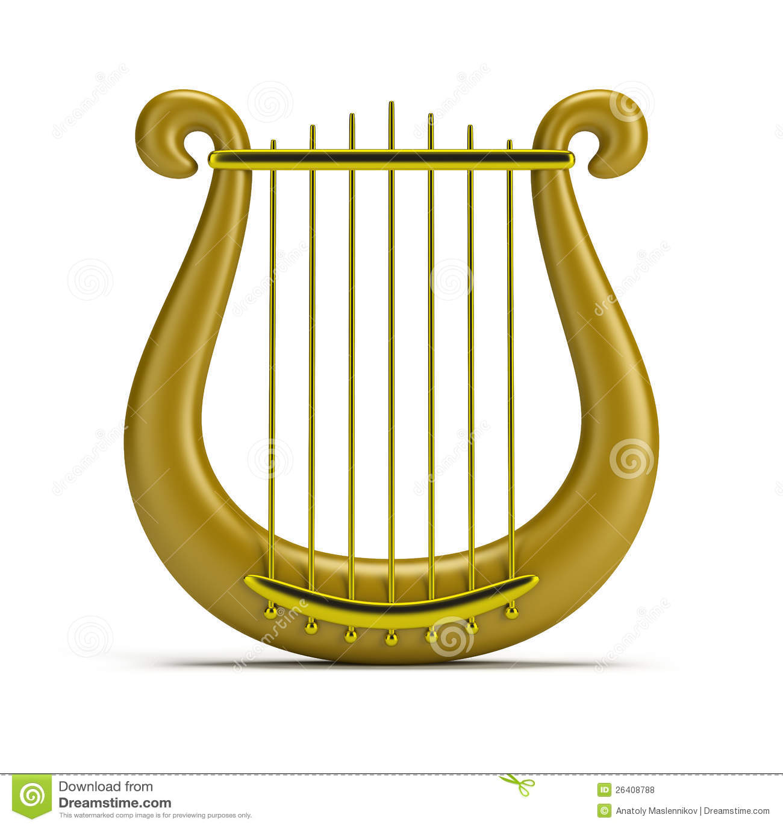 harpa dourada fotos de stock royalty free imagem 26408788 clipart harp seal harp clip art black