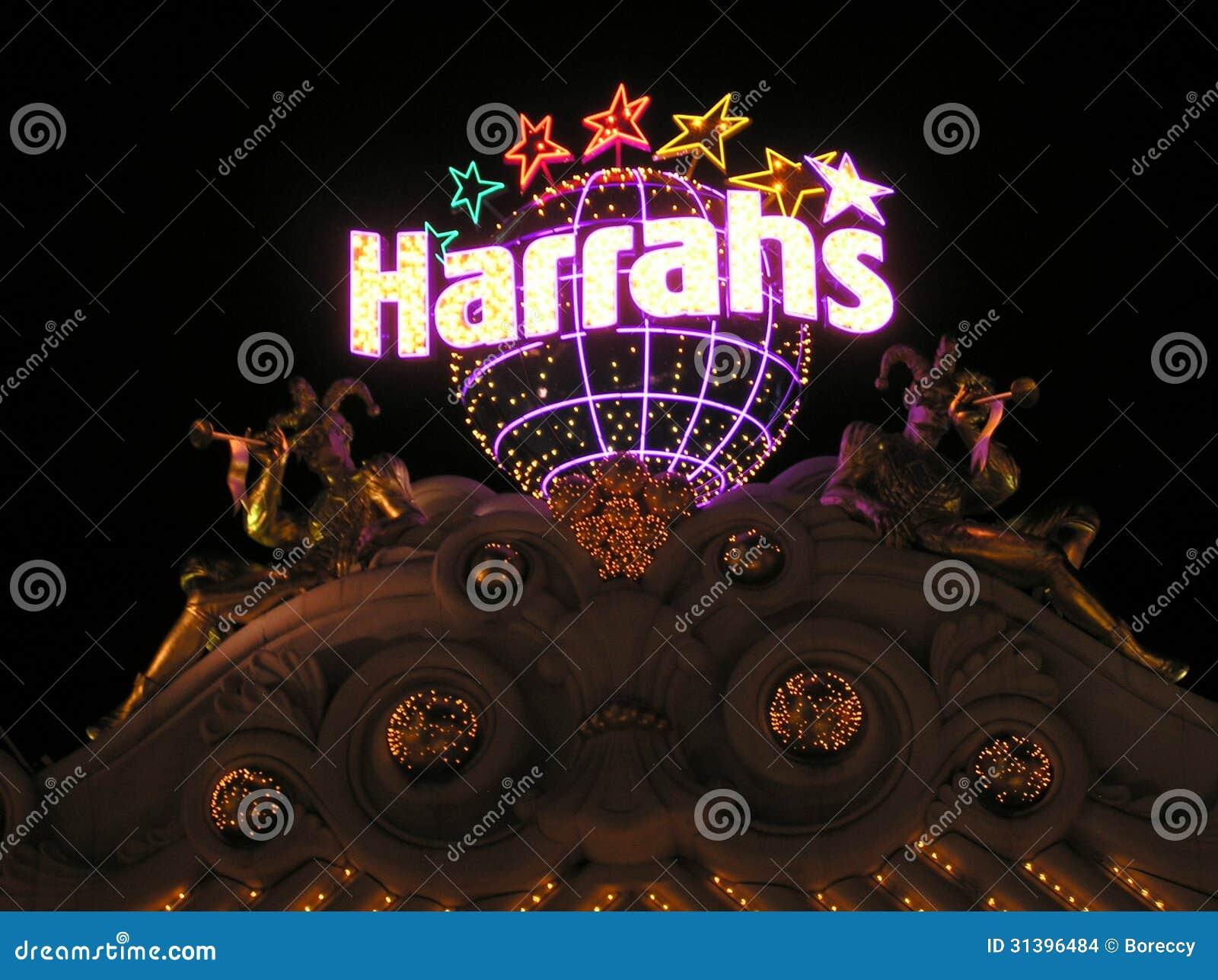 harrah是拉斯韦加斯大道的旅馆和赌博娱乐场手段位于天堂,内华达,美国