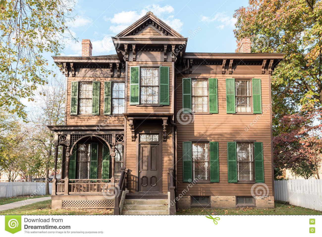 Harriet Dean House Stock Photo Image 80953684