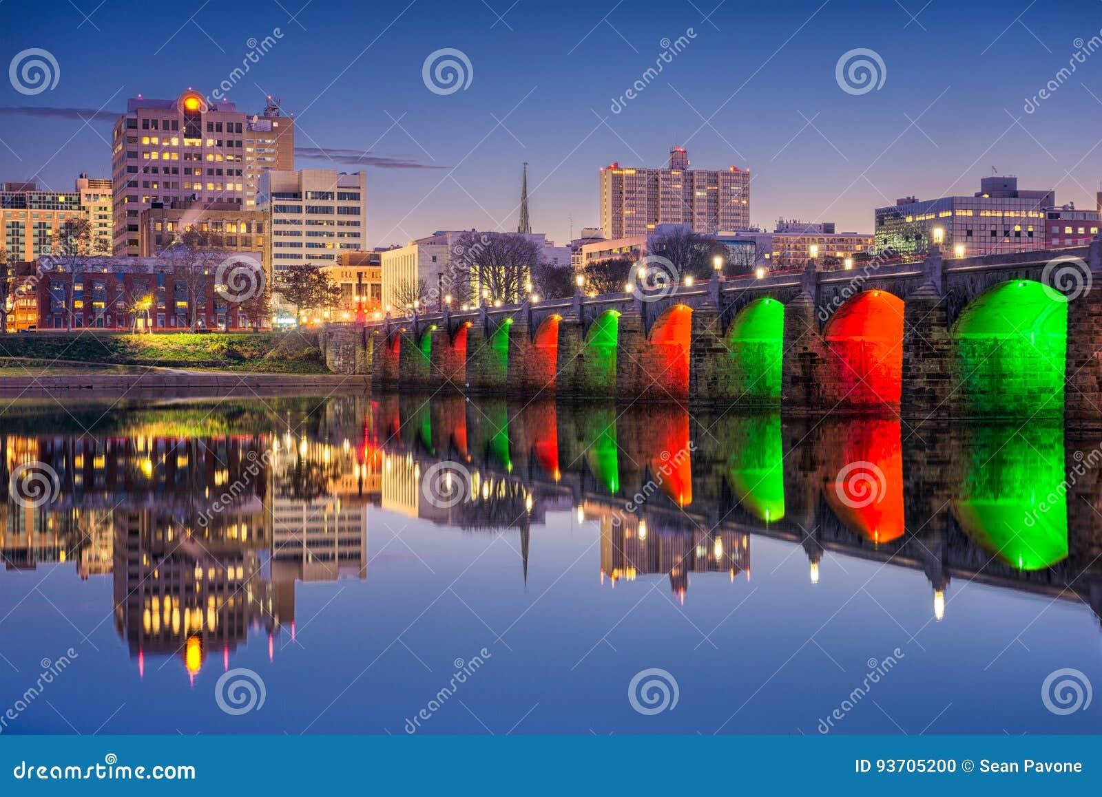 Harrisburg, Pennsylvania, USA Stockfoto - Bild von feiertage ...