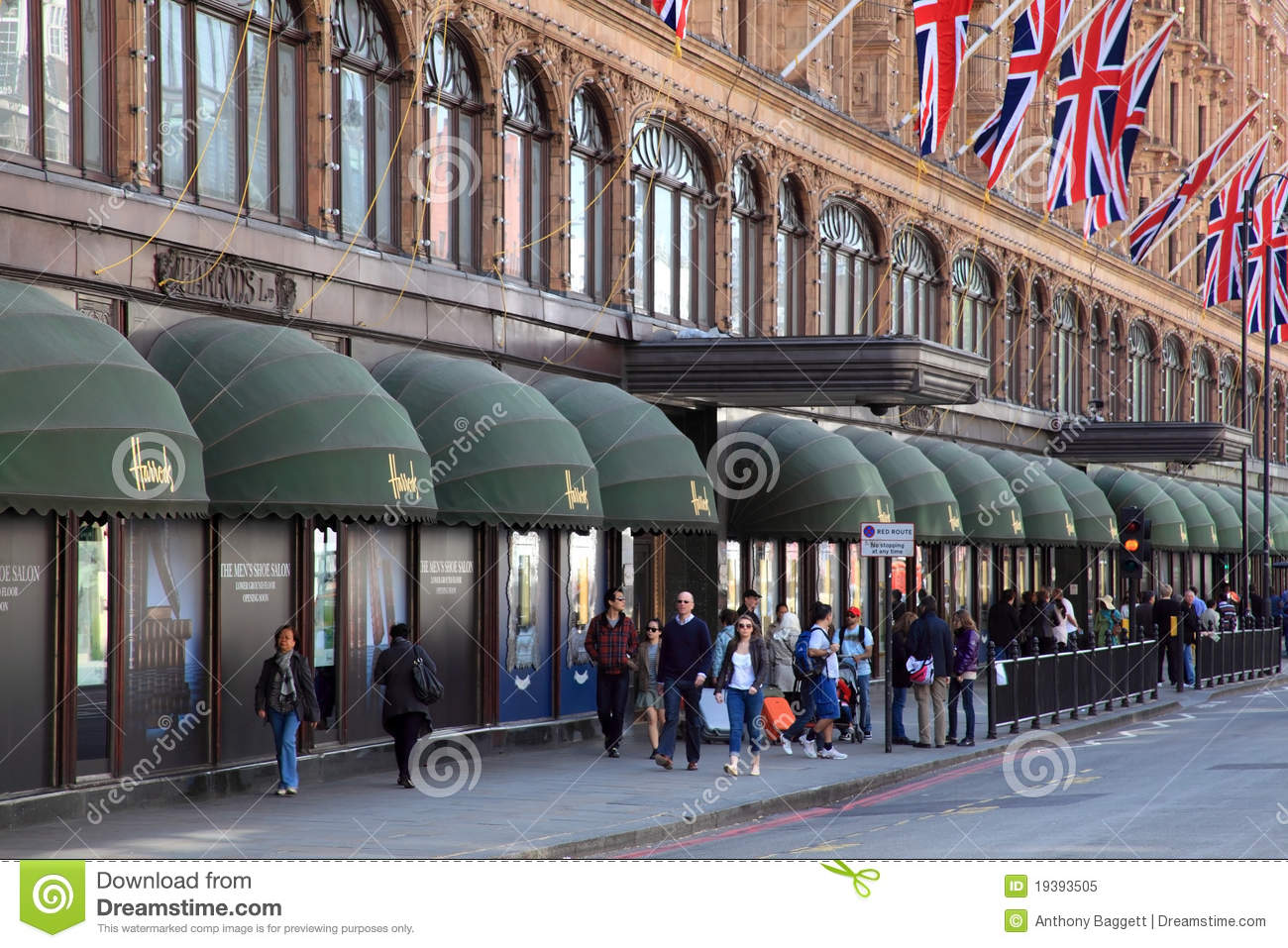 harrods department store in knightsbridge london images frompo. Black Bedroom Furniture Sets. Home Design Ideas