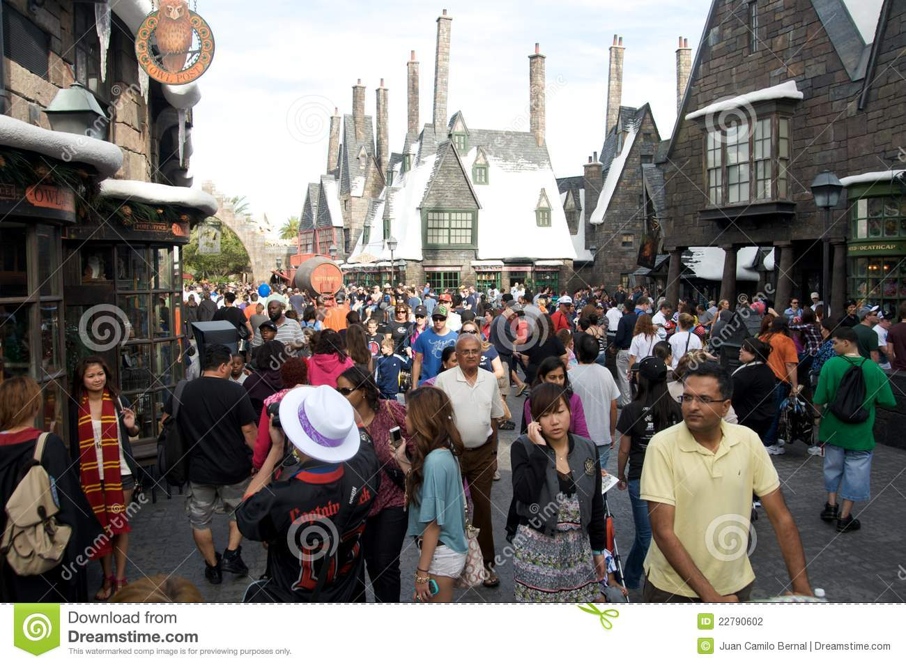 Harry Potter area at Universal Studios Orlando