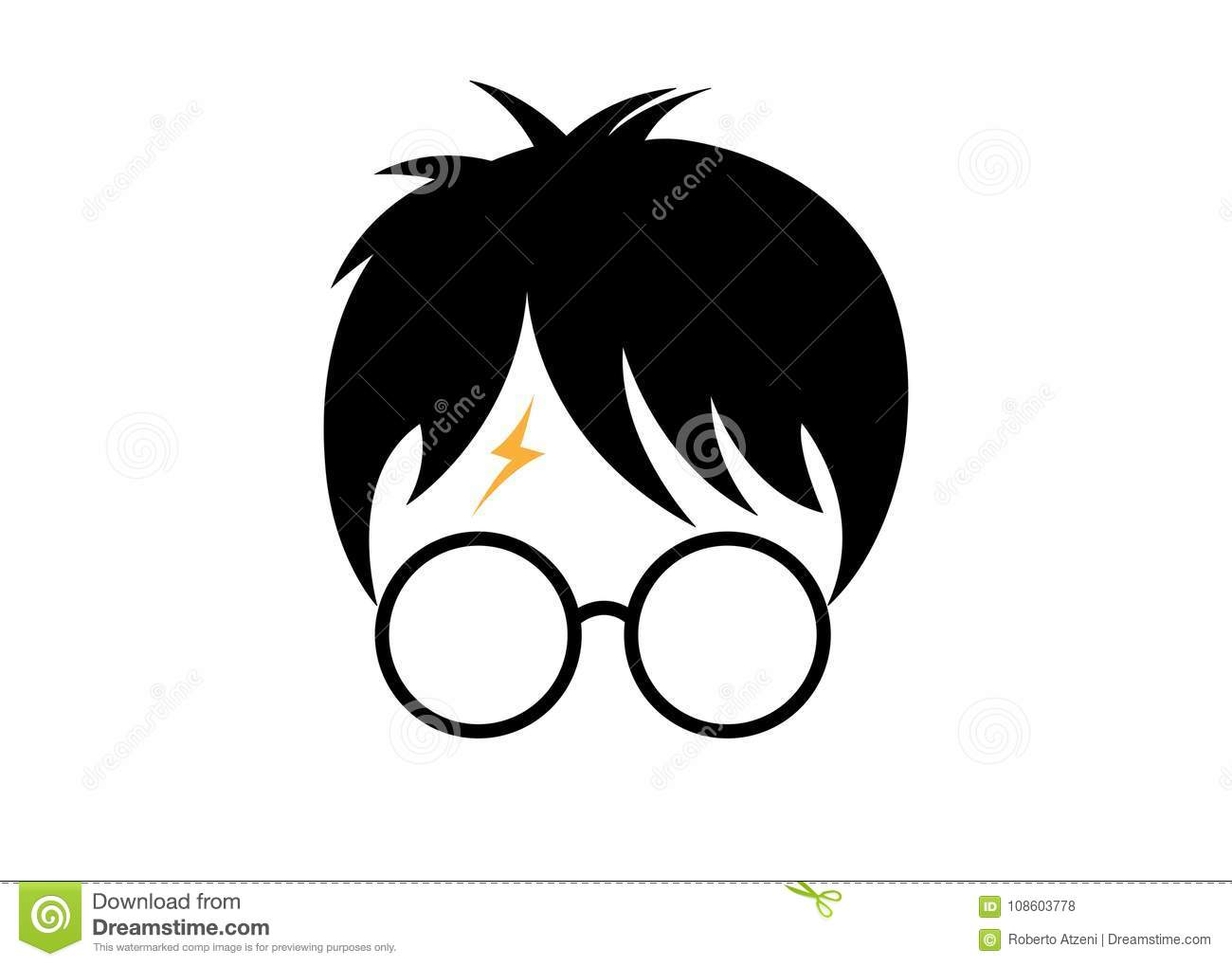 Good Wallpaper Harry Potter Cartoon - harry-potter-cartoon-icon-minimal-style-vector-108603778  Pictures_185641.jpg