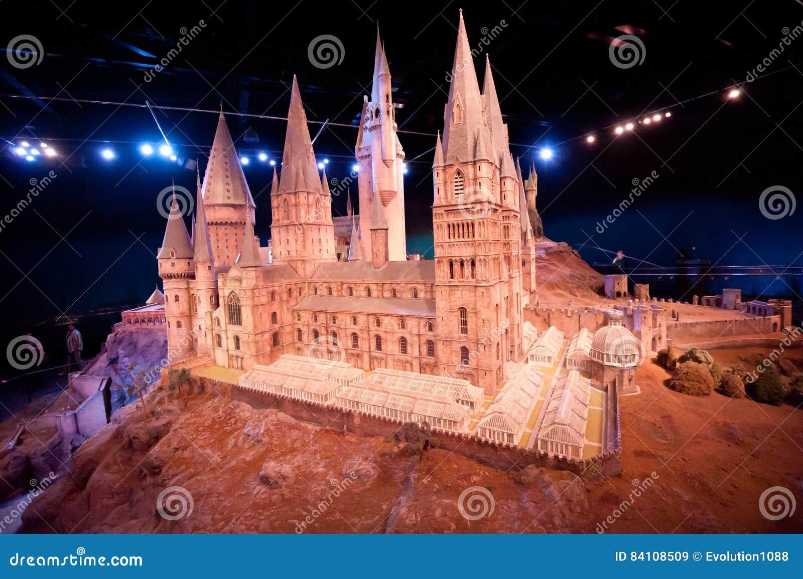 Harry Potter Castle på Warner Bros Studio Tour London