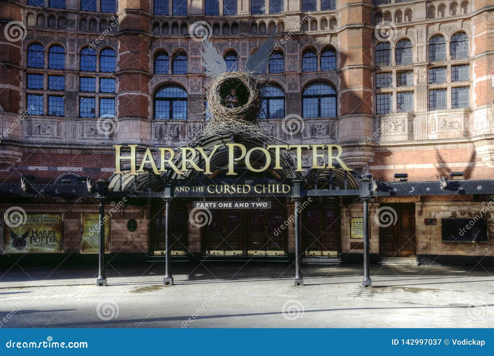 Harry Potter kapacitet på slottteatern, London
