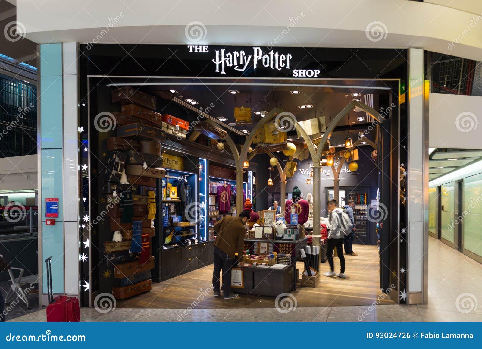 Harry Potter Store An Heathrow Flughafenabfertigungsgebäude