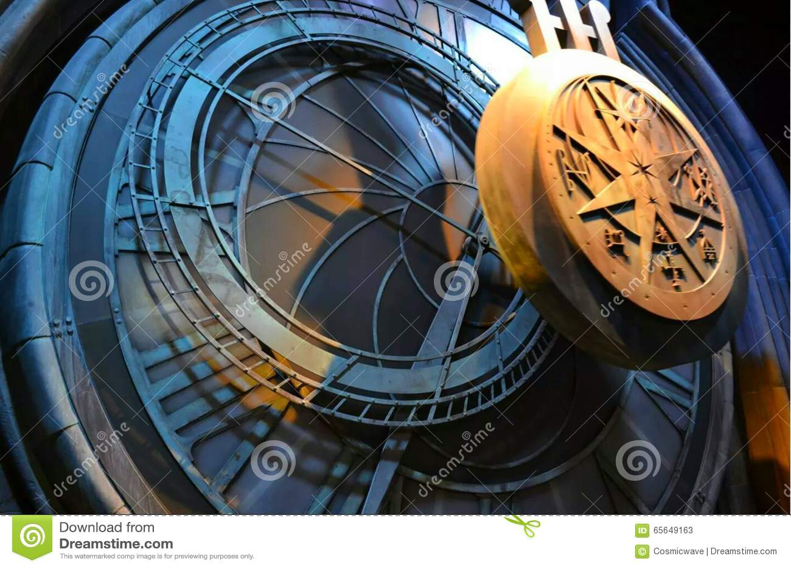 Harry Potter Studio Tour : Pendule d horloge