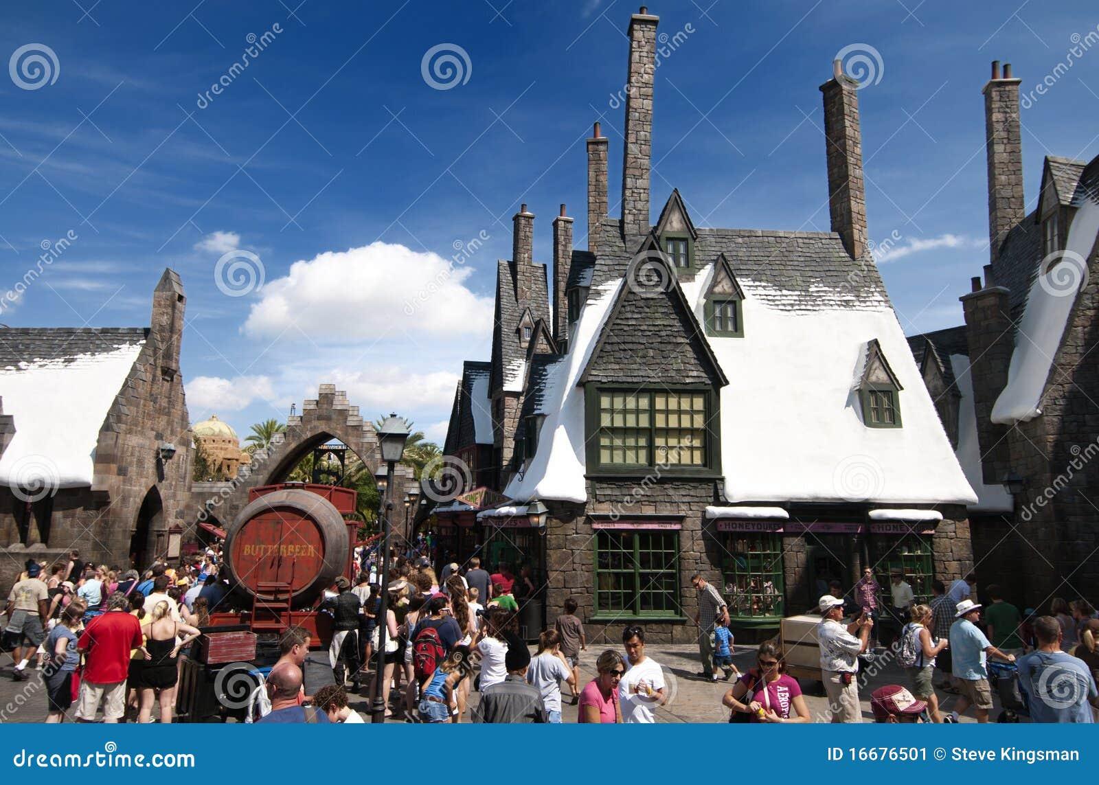 Harry Potter wizarding värld