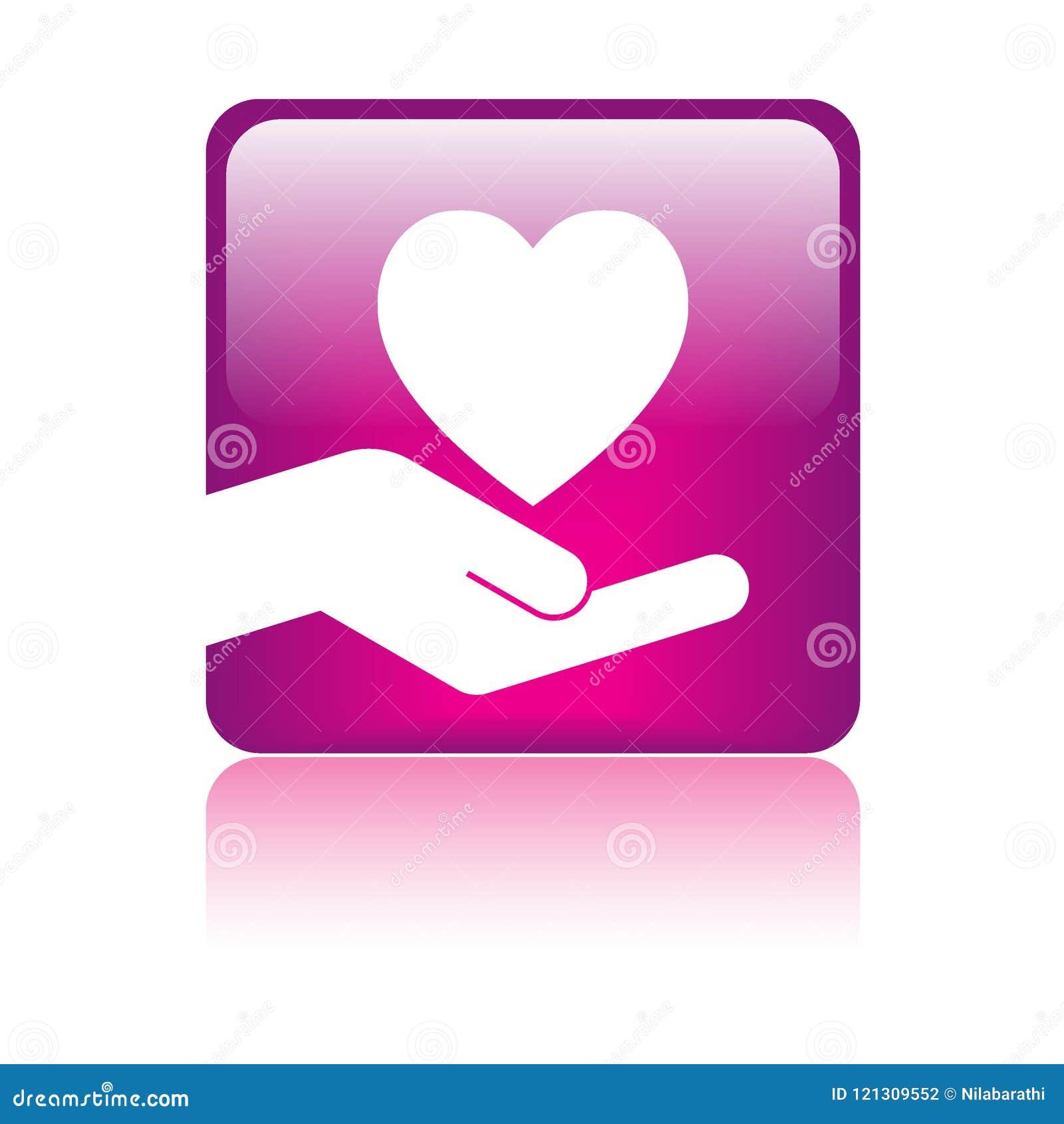 Hart in hand embleem
