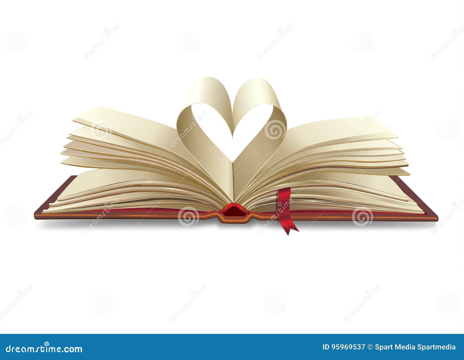 Hart open boek