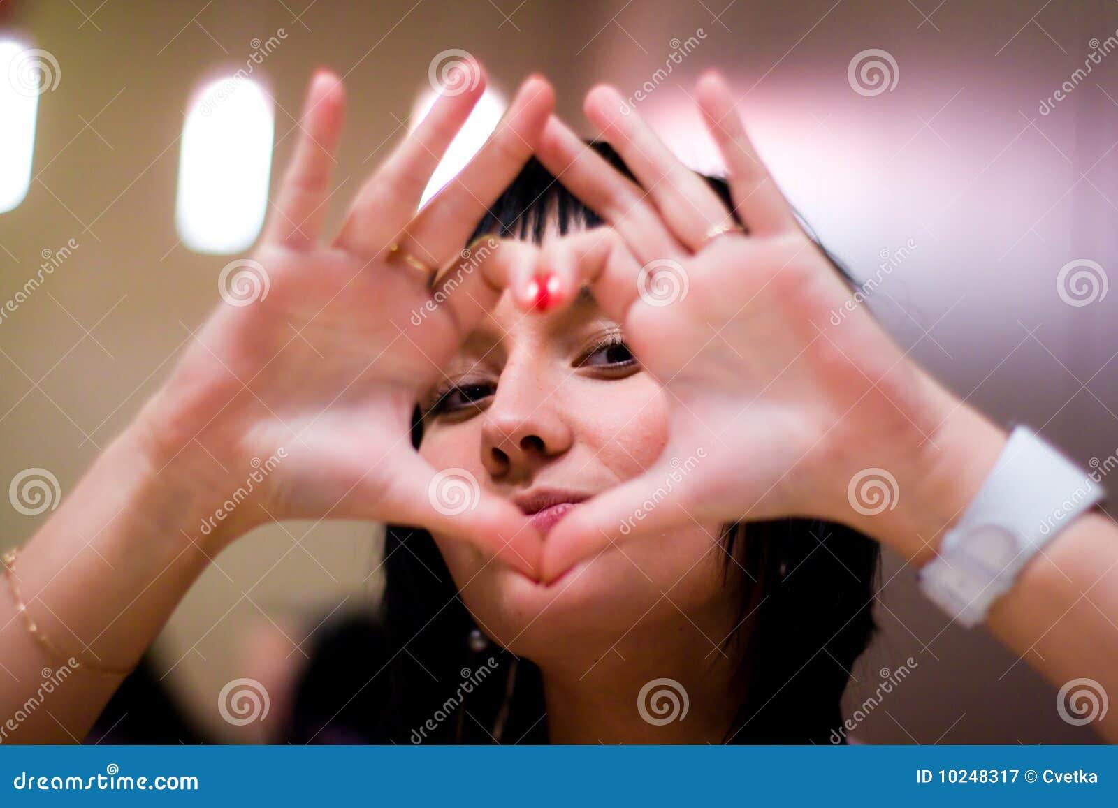 Hart van handen