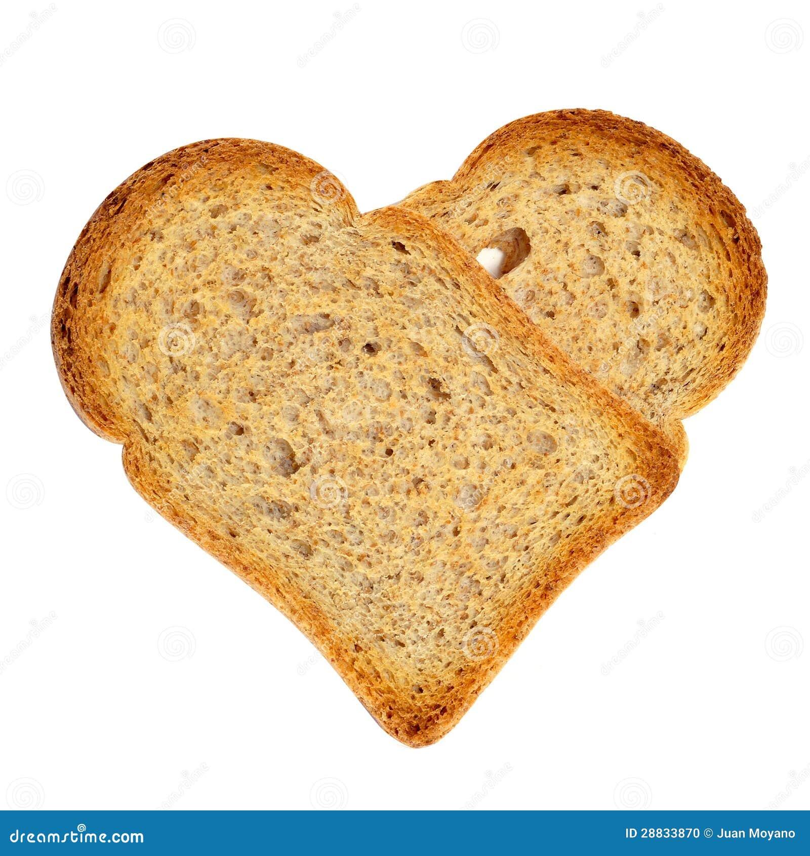 Hart-vormige broodbeschuiten