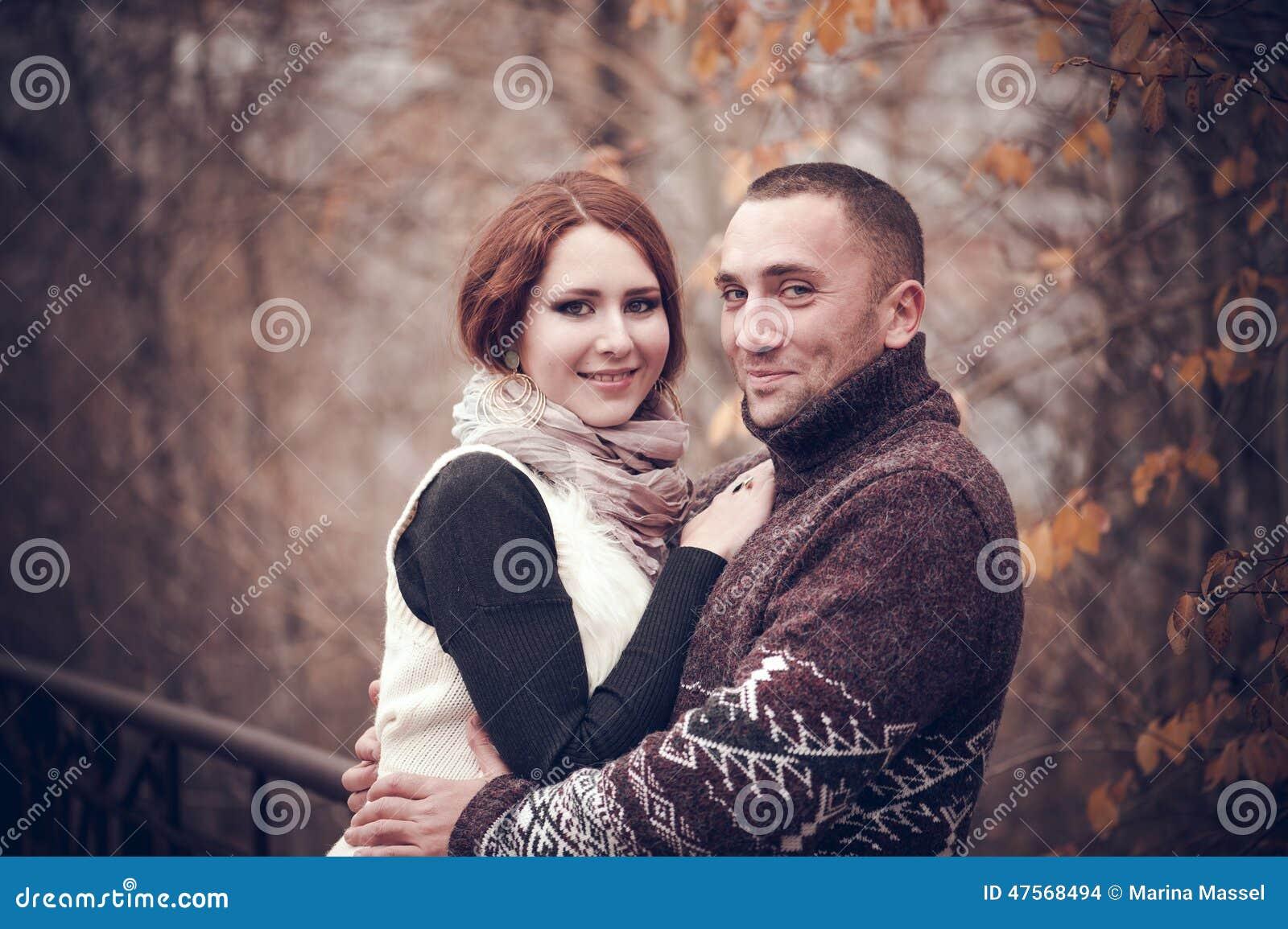 Hartelijk paar in liefde