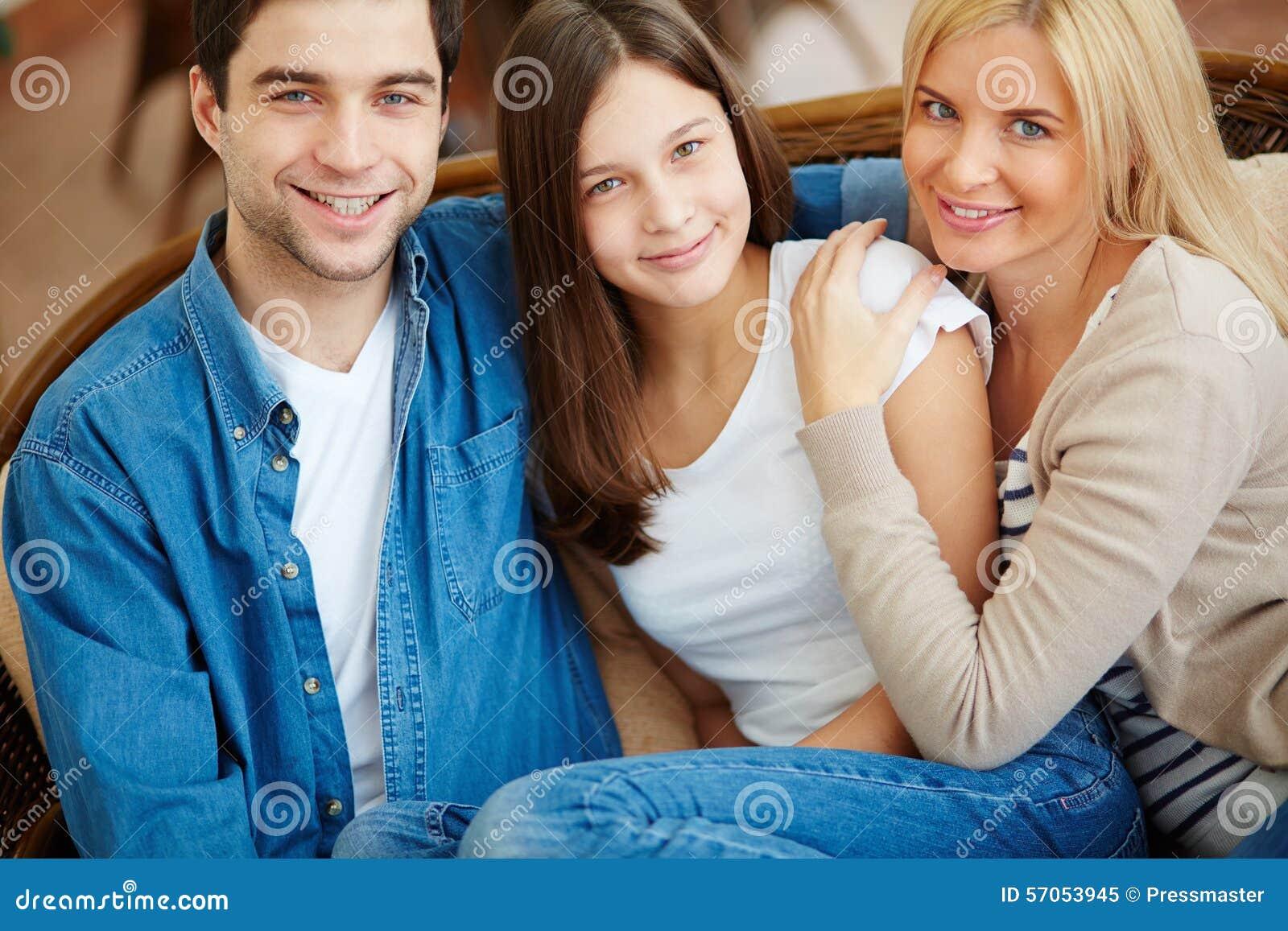 Hartelijke familie
