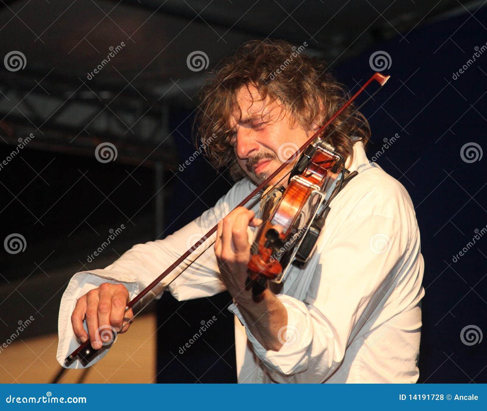 Hartstochtelijke violonist