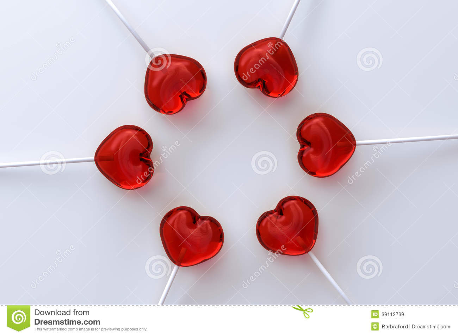 Hartvorm lollypops