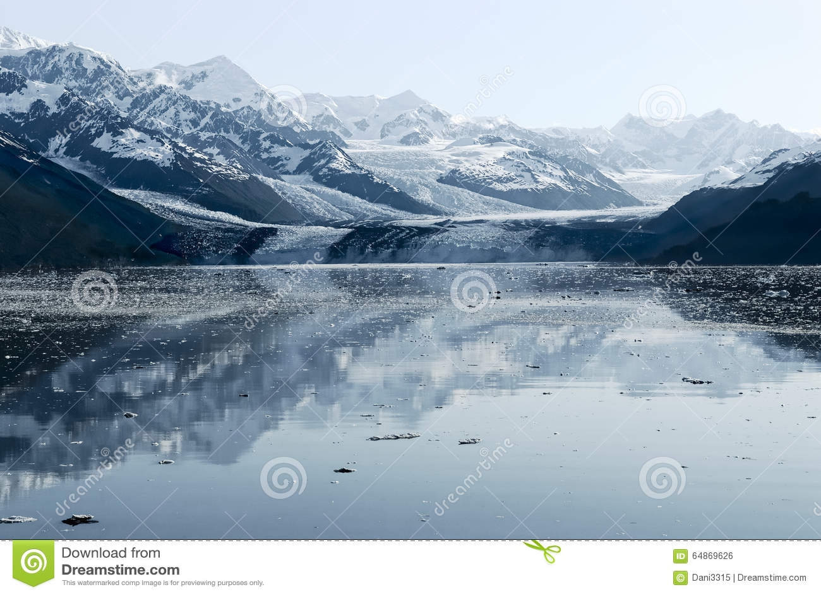 Harvard-Gletscher in College-Fjord, Alaska
