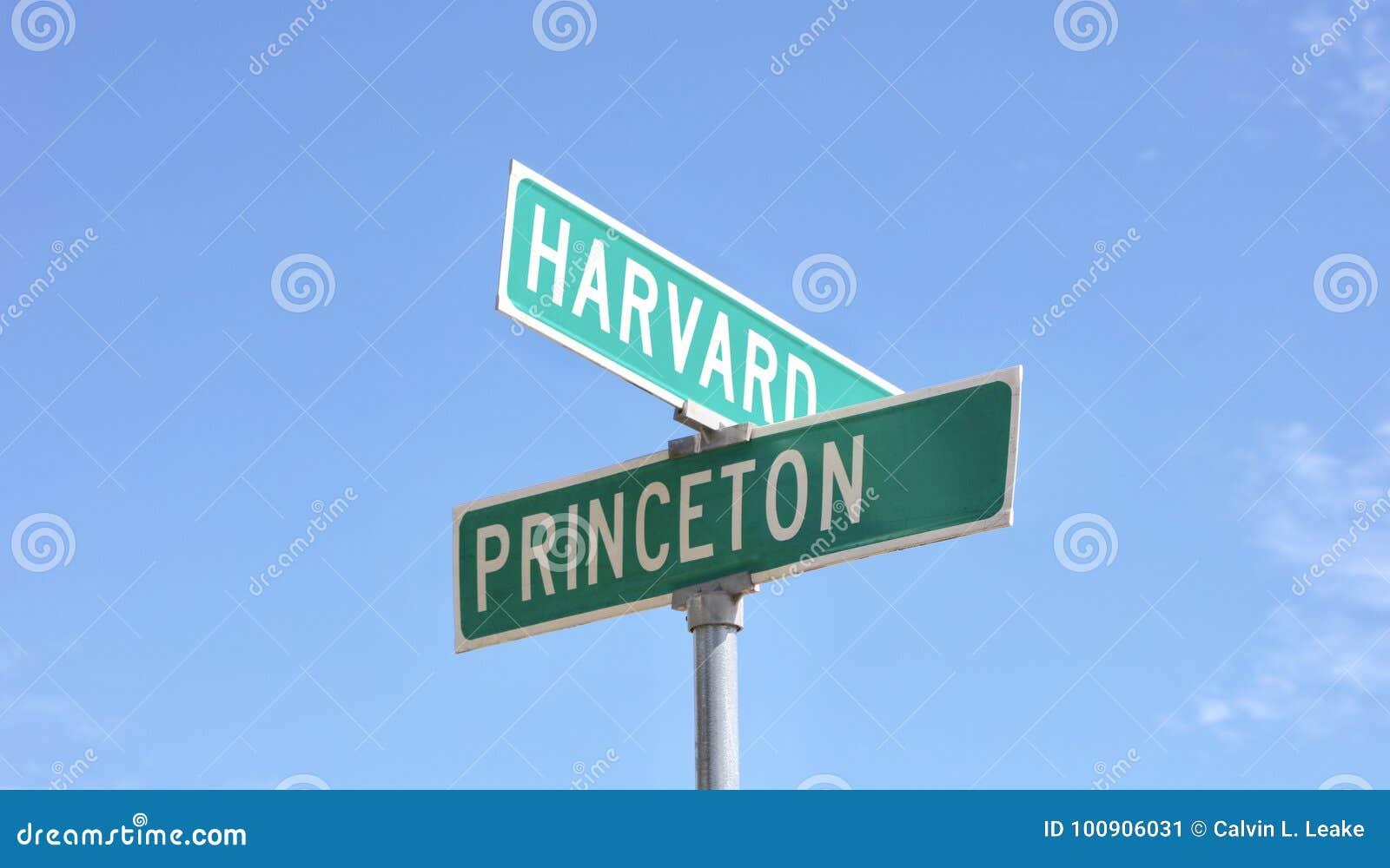 Harvard och Princeton elithögskolor