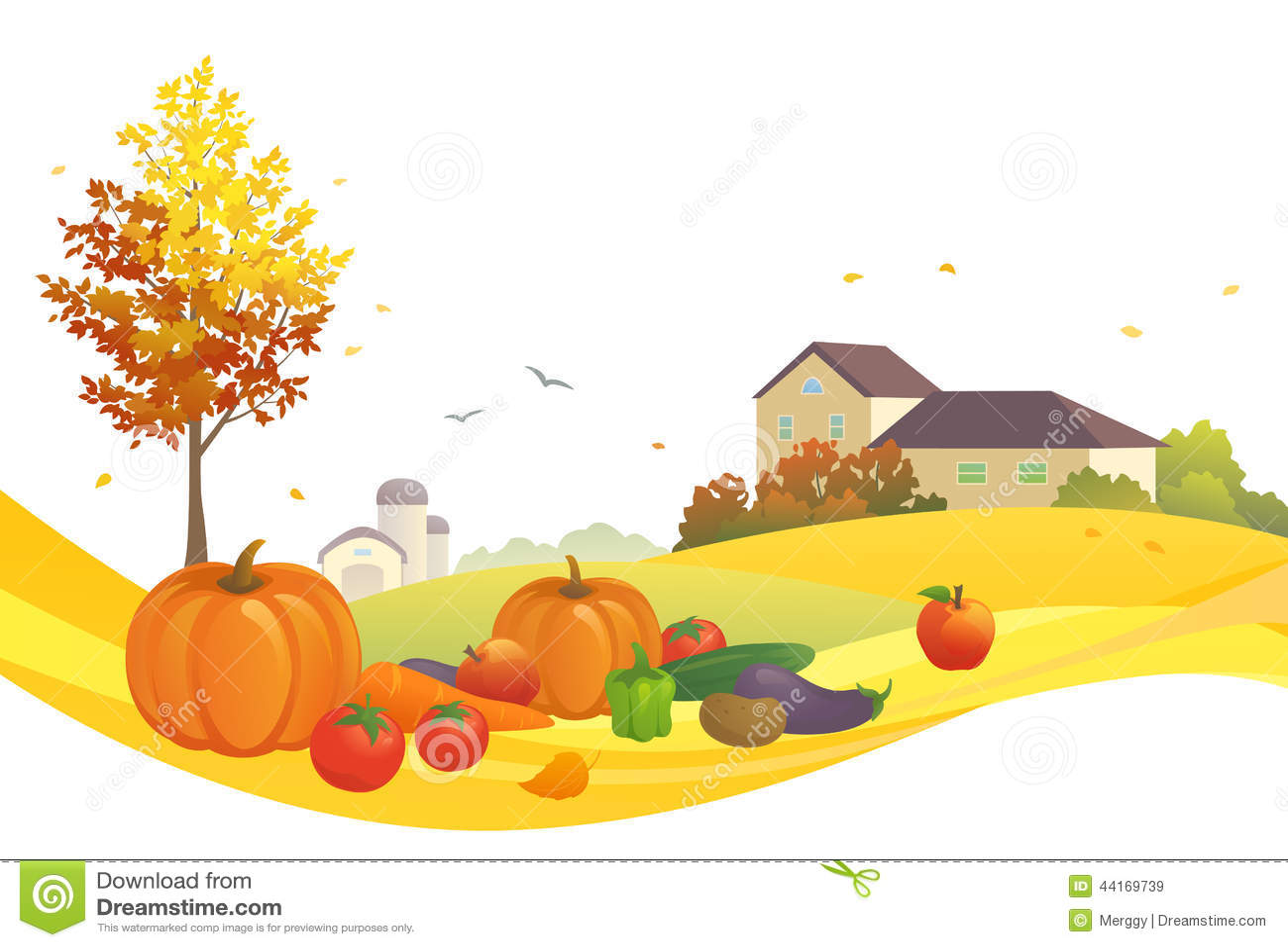 harvest design stock vector image 44169739 fall season clip art free disney fall season clipart