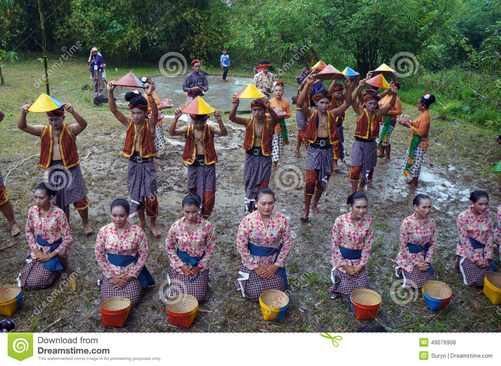 harvest festival in indonesia