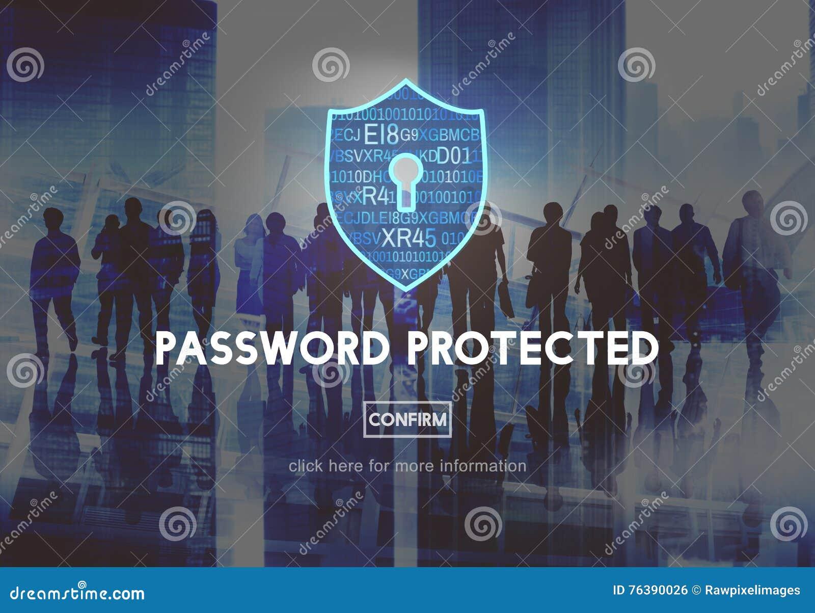 Hasło Ochraniający sieci ochrony ochrony pojęcie