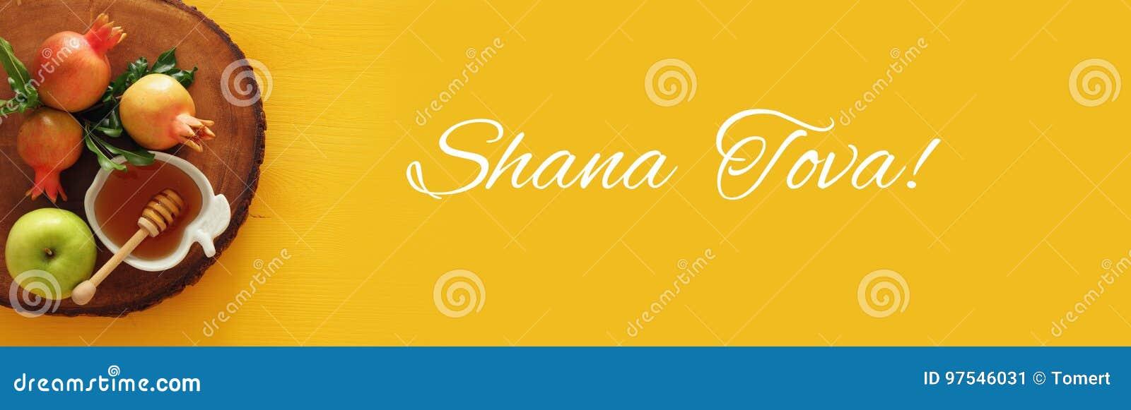 Hashanah de Rosh & x28; holiday& judaico x29 do ano novo; conceito