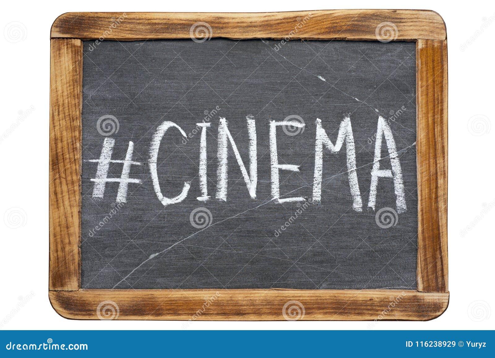 Hashtag de cinéma