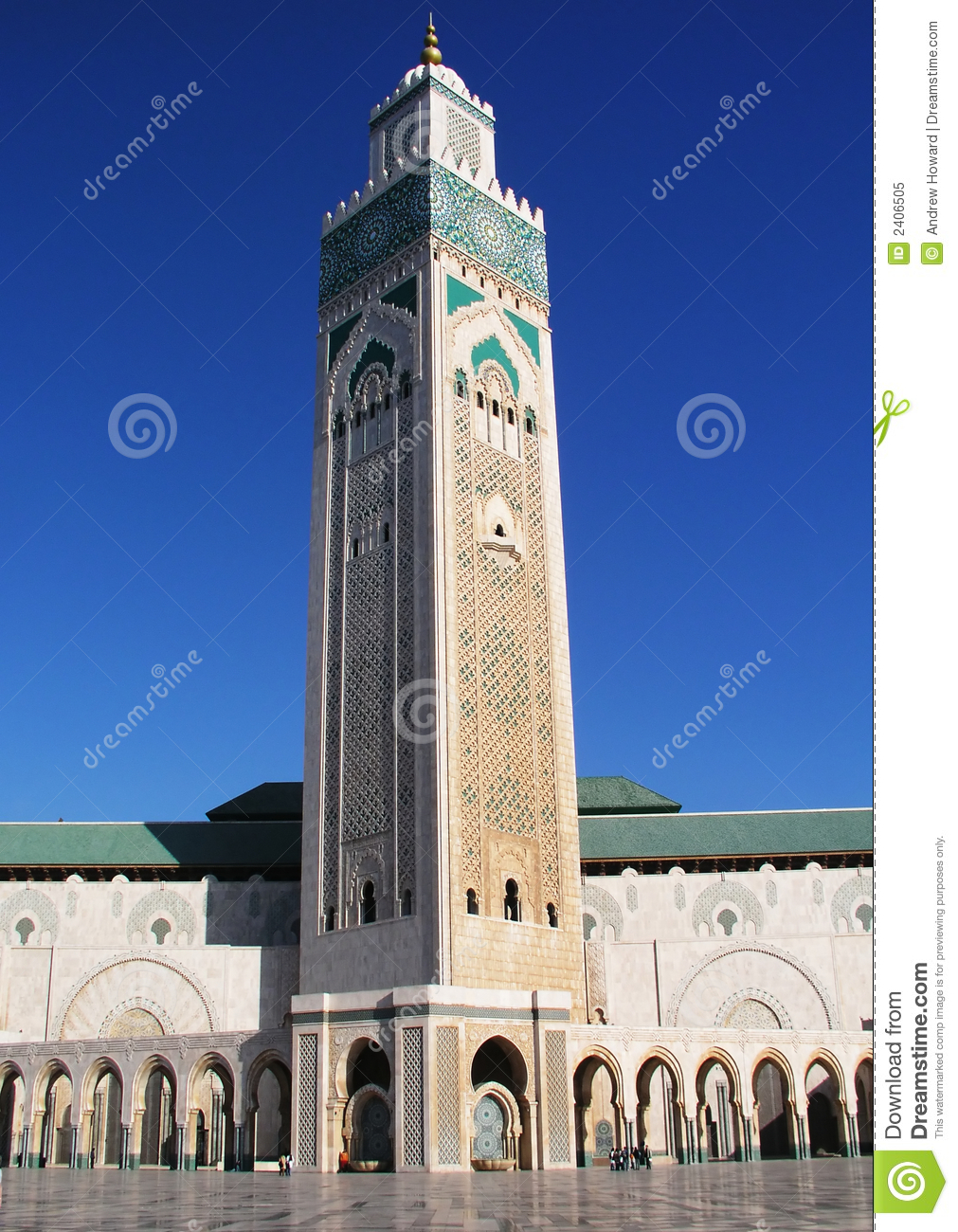Hassan the 2nd mosque Morocco