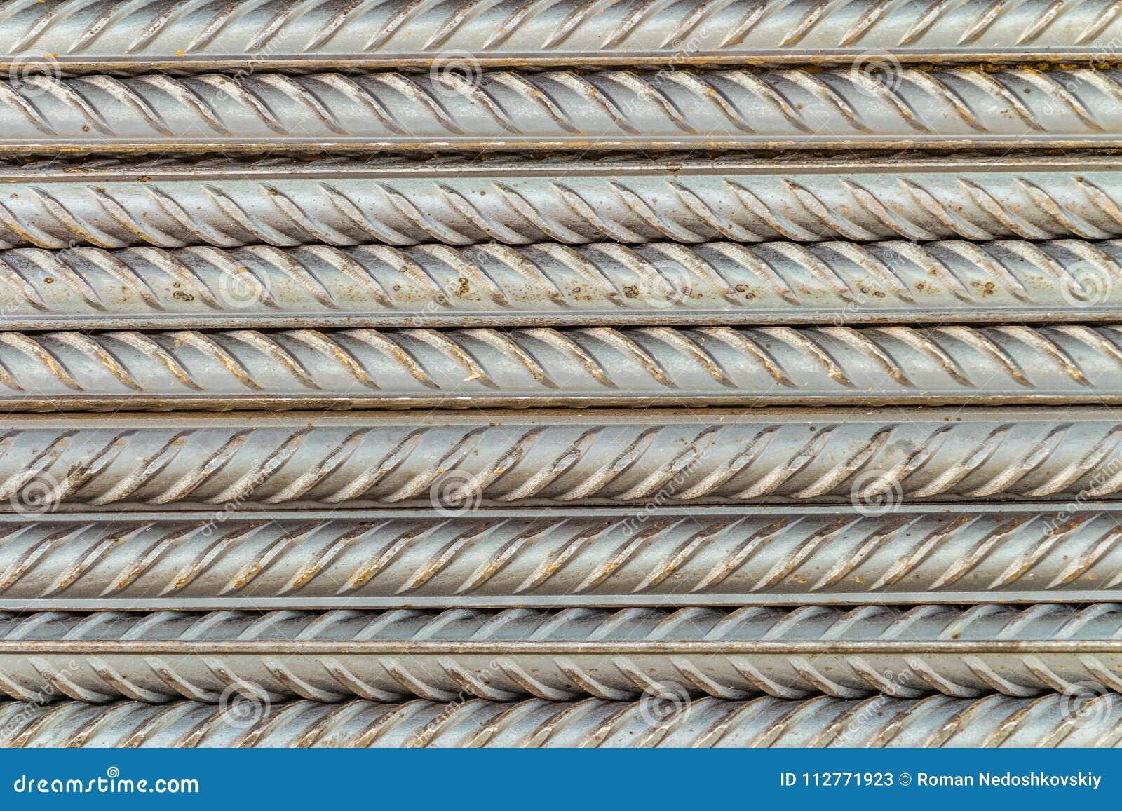 Hastes de aço das barras de reforço com perfil periódico