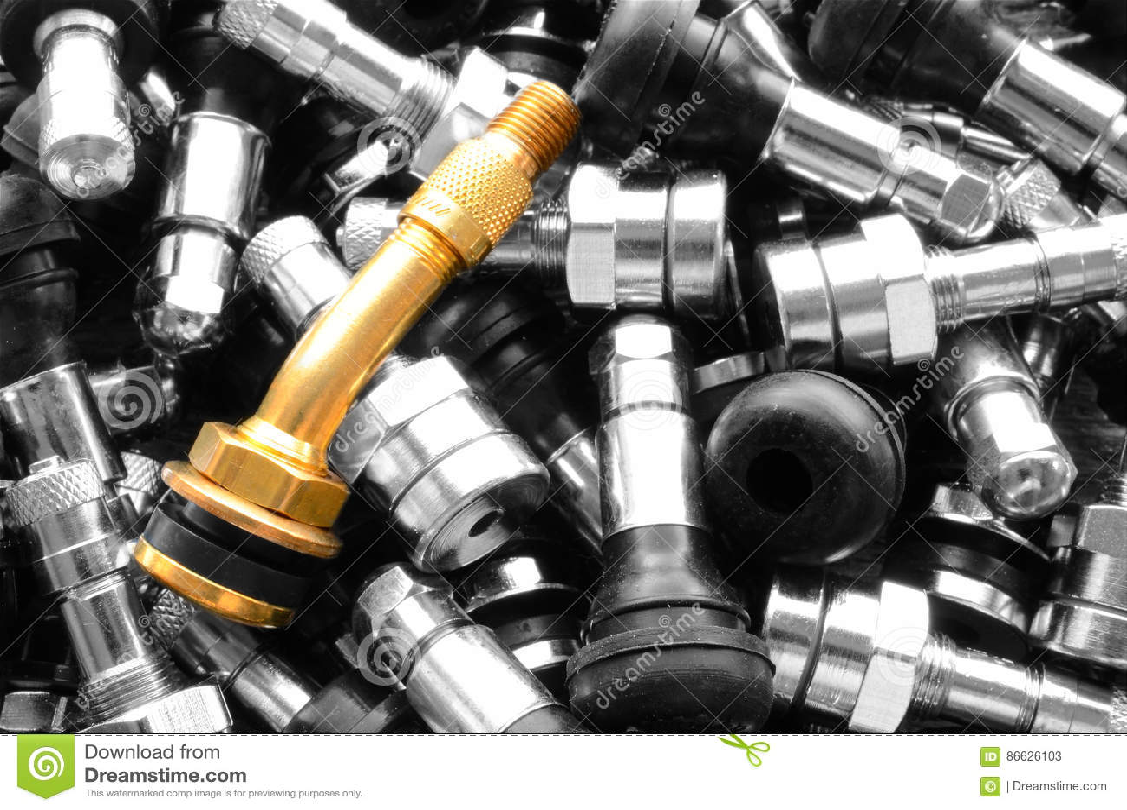 Hastes de válvula do pneu