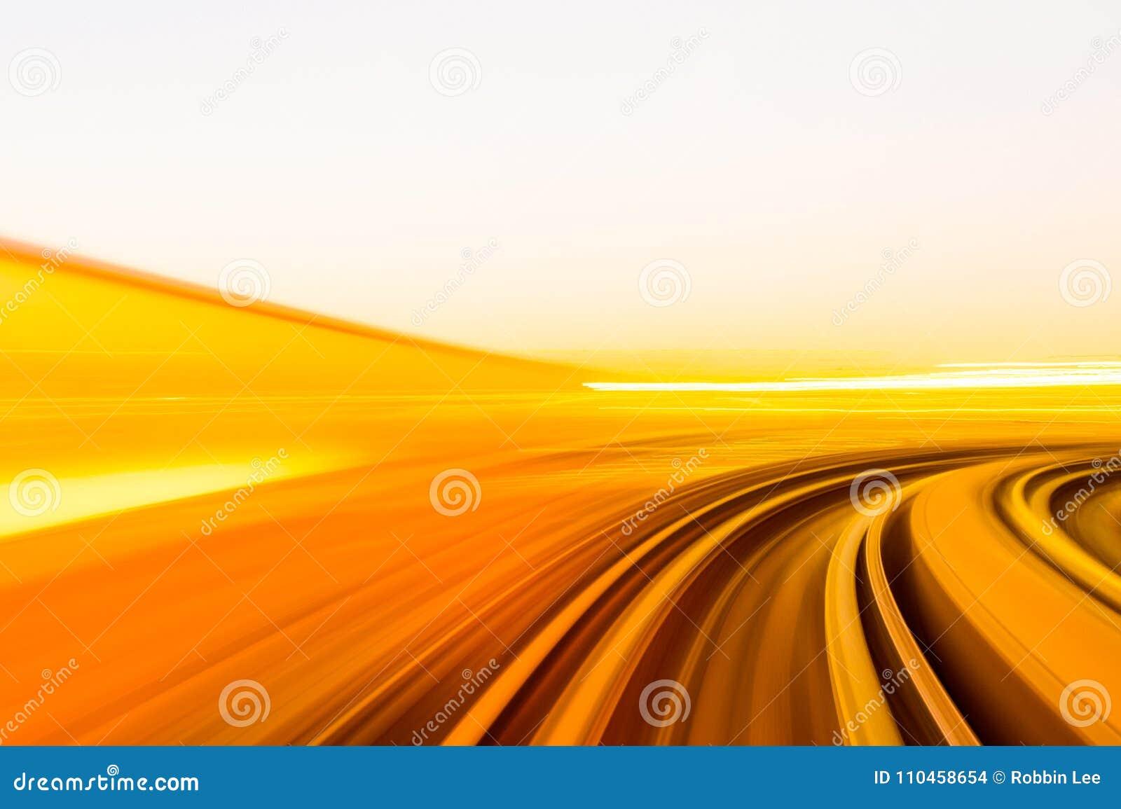 Hastighetsrörelse i stads- huvudvägvägtunnel