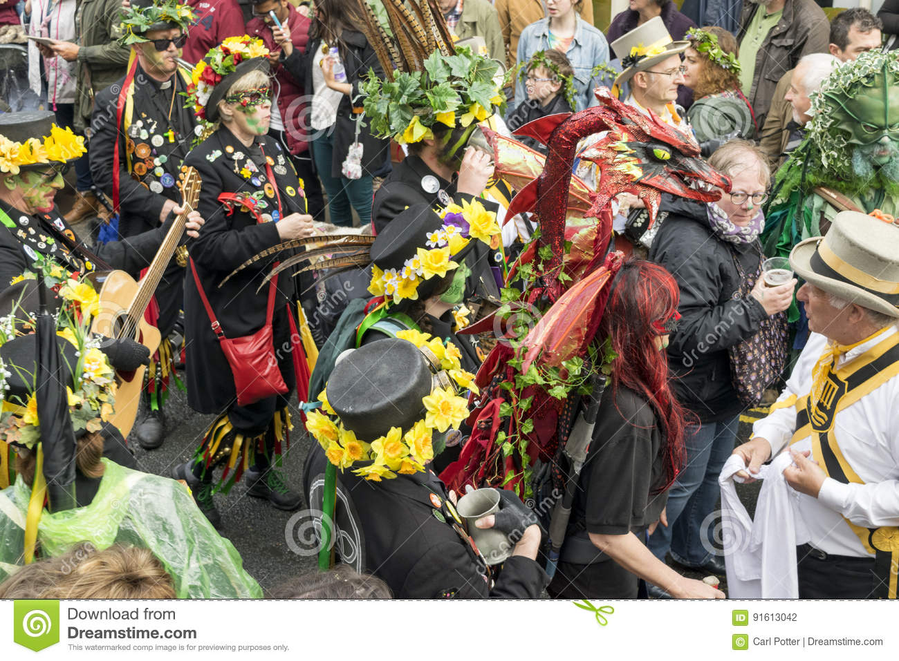 Hastings Mayday Jack In The Green Festival 2017 Editorial