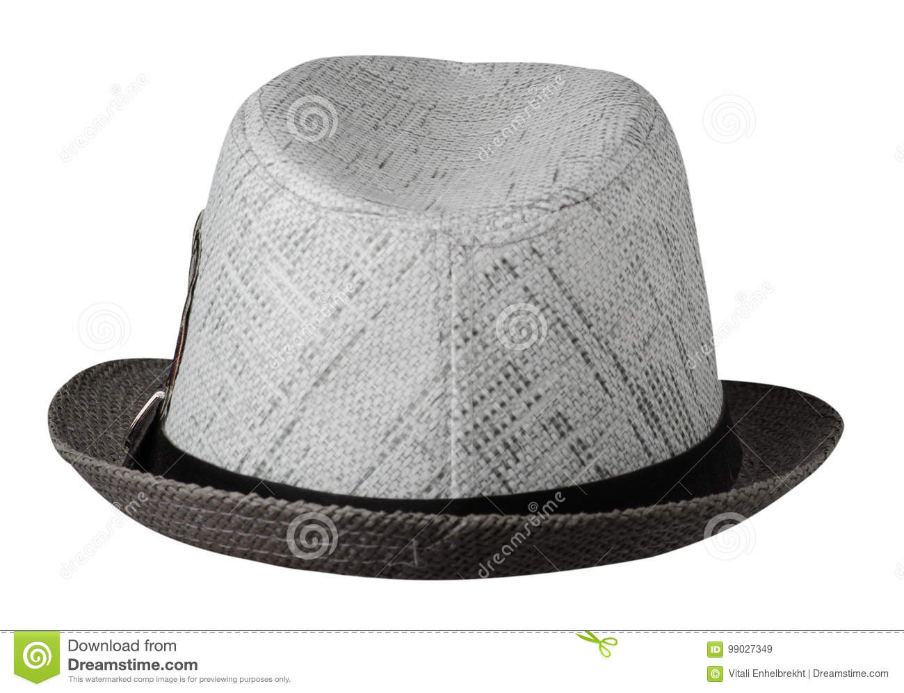 Hat with a brim