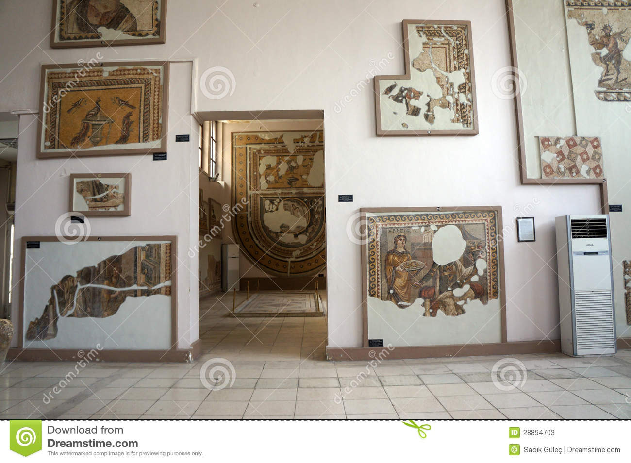 Hatay Archaeological Museum Editorial Stock Photo - Image ...