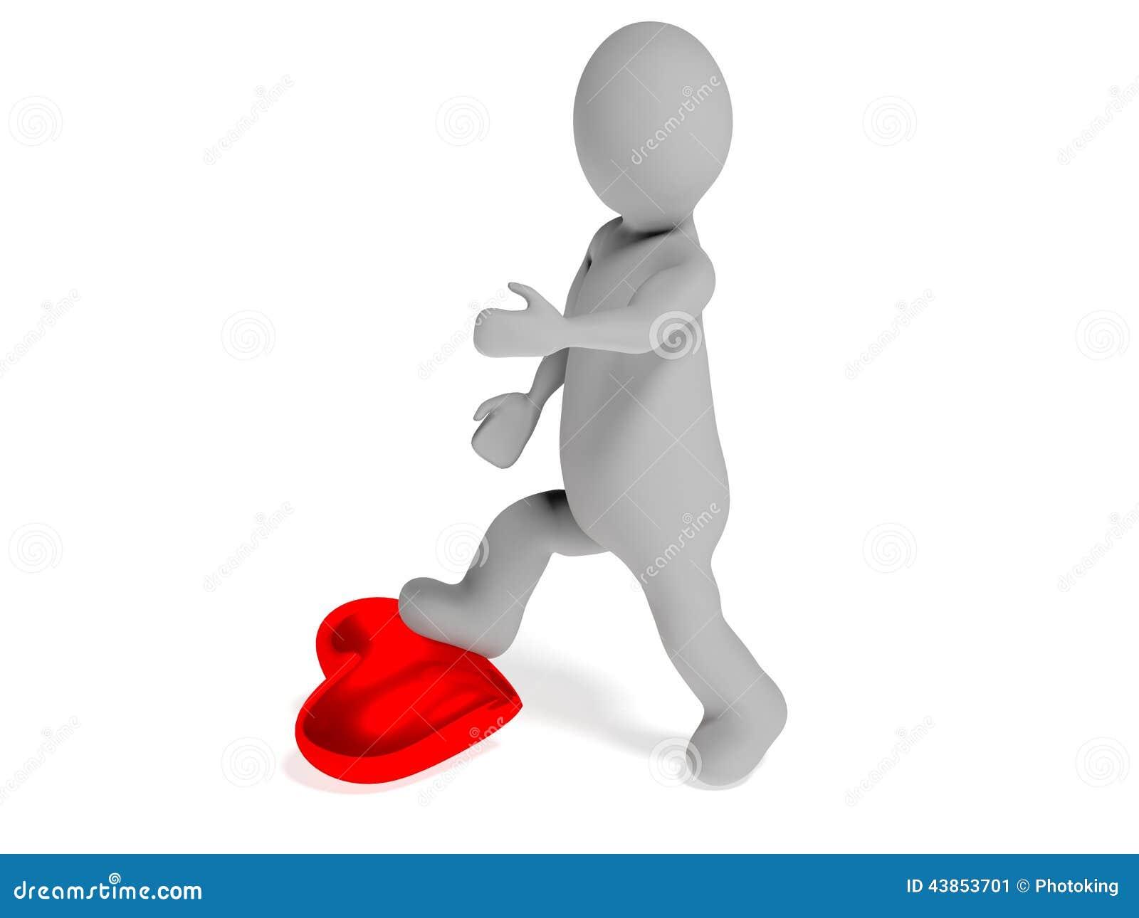 Hate Love Stock Illustration Illustration Of Gift Health 43853701